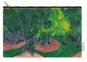 Landscape With Chestnut Tree Carry-all Pouch