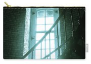 Light Through The Currituck Window - Text Carry-all Pouch