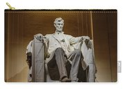 Lincoln Statue Carry-all Pouch