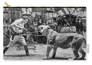 Lion Tamer, 1930s Carry-all Pouch