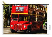 London Red Bus. Carry-all Pouch