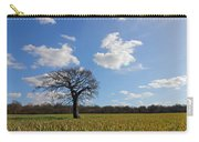 Lone Oak Tree In English Countryside Carry-all Pouch