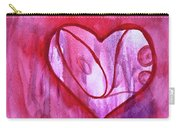 Love Heart Carry-all Pouch