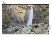 Lower Yosemite Fall In The Famous Yosemite Carry-all Pouch