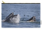 Lunge-feeding Humpback Whales Carry-all Pouch