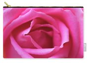 Macro Shot Of A Beautiful Pink Rose. Carry-all Pouch