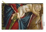 Madonna And Child And The Young St John The Baptist Carry-all Pouch