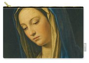 Madonna At Prayer Carry-all Pouch