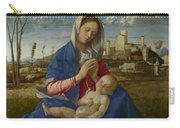 Madonna Of The Meadow Carry-all Pouch