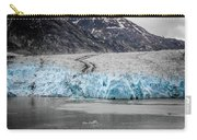 Magnificent Sawyer Glacier At The Tip Of Tracy Arm Fjord Carry-all Pouch