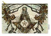 Masonic Symbolism Reworked Carry-all Pouch