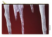 Melting Icicles Carry-all Pouch