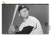 Mickey Mantle (1931-1995) Carry-all Pouch by Granger