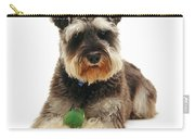 Miniature Schnauzer Carry-all Pouch by Jane Burton