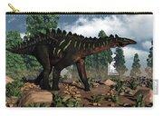 Miragaia Dinosaur - 3d Render Carry-all Pouch