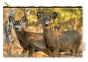 Mule Deer In The Woods Carry-all Pouch