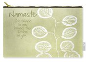 Namaste Carry-all Pouch by Linda Woods