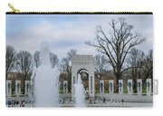 National World War II Memorial Carry-all Pouch
