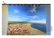 Nazare Portugal Skyline Carry-all Pouch