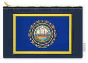 New Hampshire Flag Carry-all Pouch