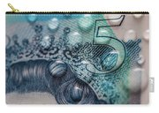 New Uk Five Pound Note Carry-all Pouch