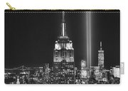 New York City Tribute In Lights Empire State Building Manhattan At Night Nyc Carry-all Pouch