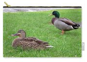 New Zealand - Pair Of Mallard Duck Carry-all Pouch