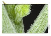 Node And Petioles On A Marijuana Plant Carry-all Pouch