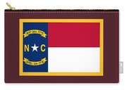 North Carolina Flag. Carry-all Pouch
