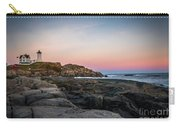 Ocean Lighthouse At Sunset Carry-all Pouch