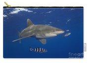 Oceanic Whitetip Shark Carry-all Pouch