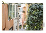 Old Street In Villefranche-sur-mer Carry-all Pouch