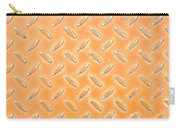 Orange Metal Carry-all Pouch