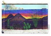 Outside Mural Carry-all Pouch