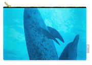 Pair Of Spotted Dolphins Carry-all Pouch