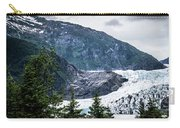 Panoramic View Of Mendenhall Glacier Juneau Alaska Carry-all Pouch