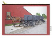 Amish Parking Lot Carry-all Pouch