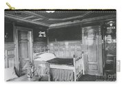 Parlour Suite Of Titanic Ship Carry-all Pouch by Photo Researchers