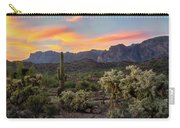 Pastel Desert Skies  Carry-all Pouch