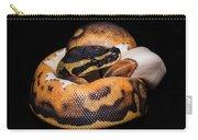 Piedbald Ball Python Carry-all Pouch