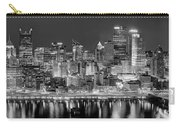 Pittsburgh Pennsylvania Skyline At Night Panorama Carry-all Pouch