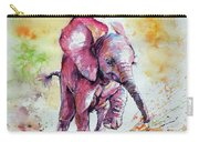 Playing Elephant Baby Carry-all Pouch
