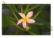 Plumeria Blossom Carry-all Pouch