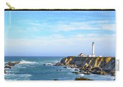 Point Arena Lighthouse Carry-all Pouch by Jim Thompson