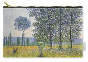 Poplars In The Sunlight Carry-all Pouch