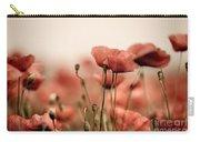 Poppy Dream Carry-all Pouch by Nailia Schwarz