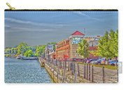 Port Of Rochester Carry-all Pouch by William Norton