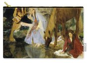 Portrait Of Mlle Fiocre In The Ballet  Carry-all Pouch