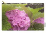 Purple Hydrangea At Rainy Garden In June, Japan Carry-all Pouch