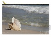 Queen Conch On The Beach Carry-all Pouch